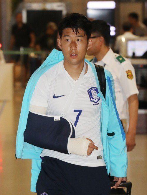 Son Heung-mins injury