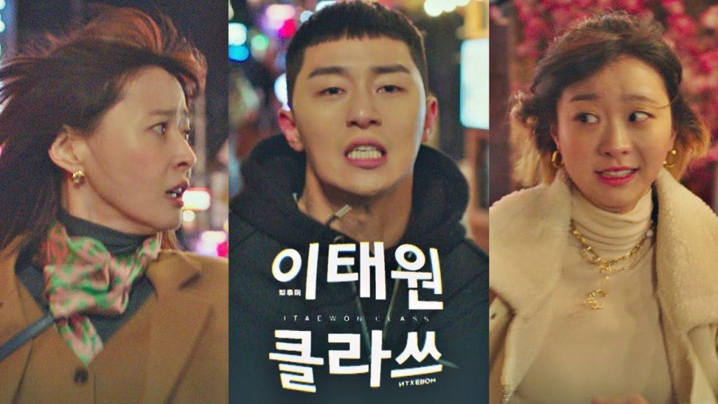 Korea Drama Top 7 in Netflix Vietnam Itaewon class poster