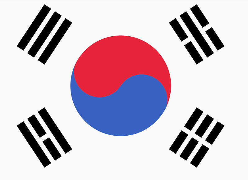 Korea features 13! Did you know?