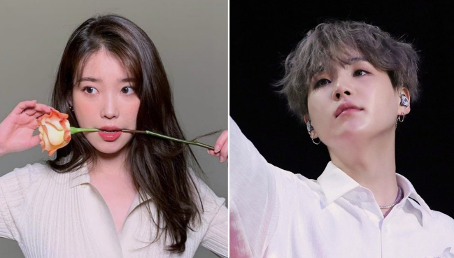 BTS NEW SONG? with IU & BTS Sugar